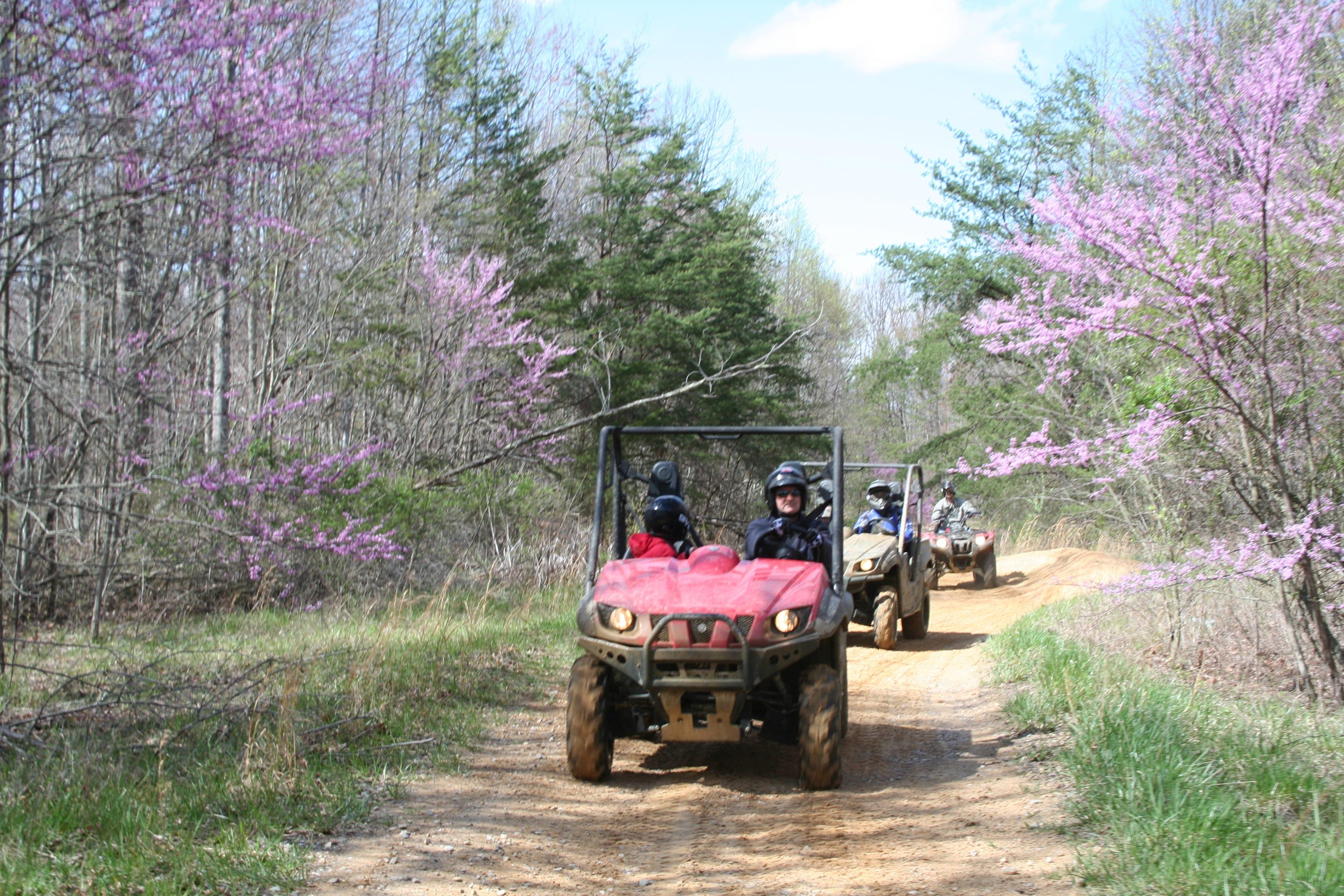 Brimstone Recreation ATV Park Tennessee